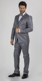 Medium Grey Slim Fit