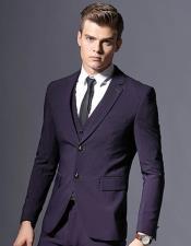 Dark Purple Suit