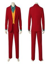 Red Suit With Orange