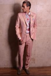 Buttons Rose Gold Suits