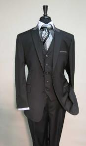 Pocket Peak Lapel Black