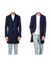Peacoat Long Jacket Three