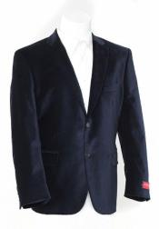 Mens Blazer Jacket Black
