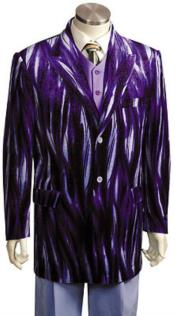 Blazer JacketMens Entertainer Purple