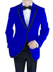 Jacket Velvet Velour Mens