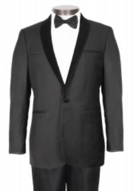 Button Black Stylish Velvet