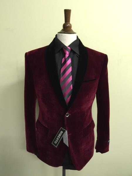 slim fit elegant Velvet
