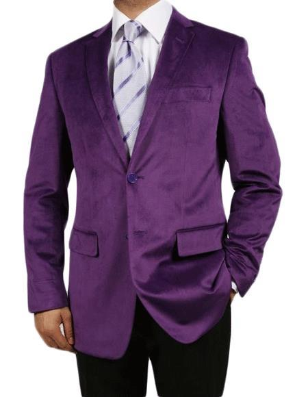 Nardoni Brand Purple Jacket