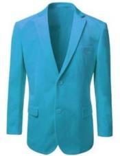 Mens Velvet Blazer Jacket