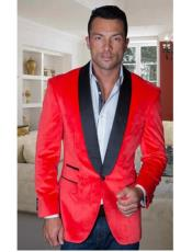 Coat Jacket Mens Red