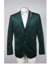 Velvet Blazer 2 Button