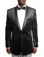 Velvet Fashion Tuxedo with