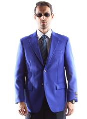 men's Blazer Big and Tall & Extra Long Sizes With Brass Buttons