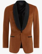 Brown ~ Cognac Velvet