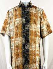 Pattern Short Sleeve Camp