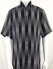 Short Sleeve Black Stripes