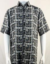 Bassiri Brown Plaid Shirt