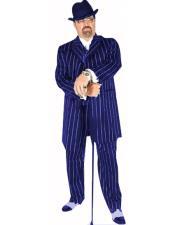 Pinsrtipe Pattern Pimp Suit