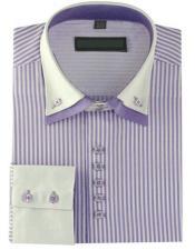 Shirts High Collar mens