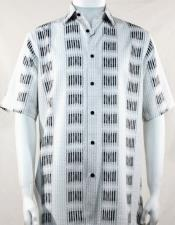 Stripe Pattern Bassiri Short