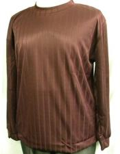 Rayon Poly Mock Neck