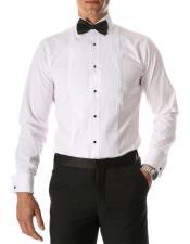 Paris White Regular Fit
