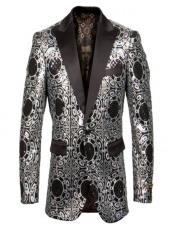 Gray Tuxedo Dinner Jacket