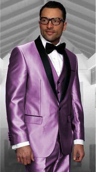 Tuxedo Shawl Collar Vested