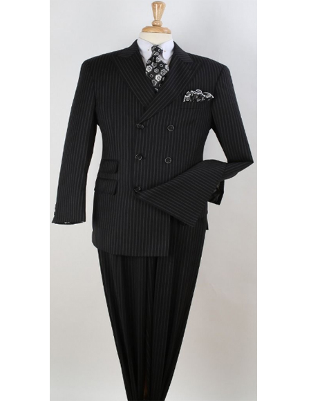 Vested Double Breasted Suit