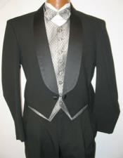 Tail Tuxedo Wool Shawl