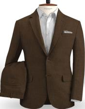 Linen Brown Suits