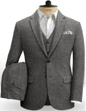 Tweed Vested Suit 20s