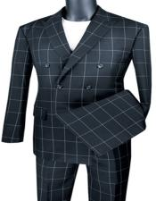 Breasted Suit Modern Fit