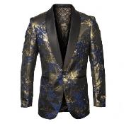 and Gold Jacket with
