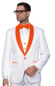 ~ Prom White Tuxedo