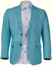 Mens Linen Blazer by