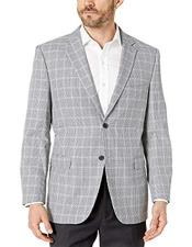 Plaid Mini Sport Coat