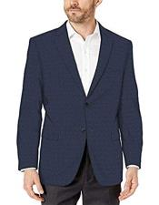 ID#KA32081 Plaid Mini Sport Coat Checker Wool Blazer