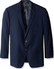 Solid Navy Classic Portly