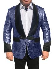 Shawl Collar Fancy Sharkskin