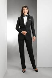 Fit Notch Lapel Women