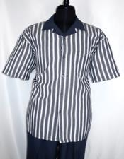 Buttons Short Sleeve mens