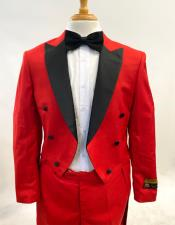 Mens Fashion Tailcoat Tuxedo