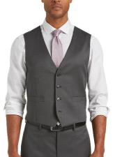 Gray Modern Fit Suit