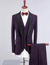 Shawl Collar Vested Wedding