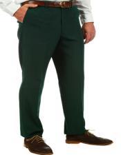 ID#KA32303 Mens Hunter Green Business Suit Pants