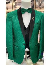 Prom Wedding Blazer Lime