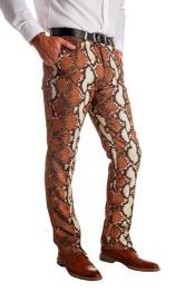 Rattlers 100% Polyester snakeskin