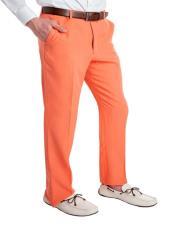 Orange Mens 100% Polyster