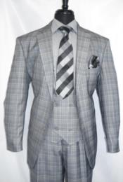 Vintage Suits Patterns Checkered